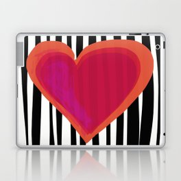 HERE IS MY HEART Laptop & iPad Skin