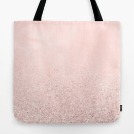 Blush Glitter Pink Tote Bag