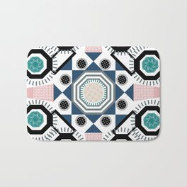 Pastel Mandala Bath Mat