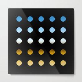 twentyfive dots o4 Metal Print