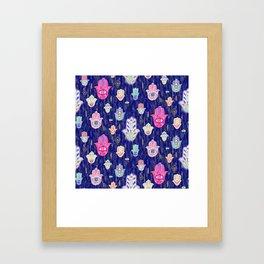 Hamsa Mystical Protection Framed Art Print