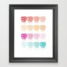 Heart Catcher - Fade Framed Art Print