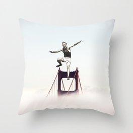 SF Athlete Throw Pillow