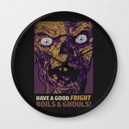 Boils & Ghouls Wall Clock