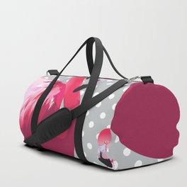 Watercolor Flamingo Pattern 6 Duffle Bag