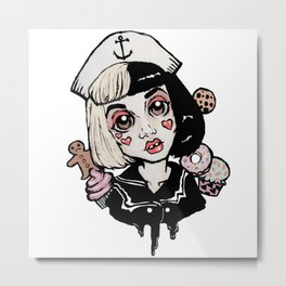 Sailor-MelanieMartinez Metal Print