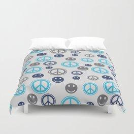 Peace Smile Duvet Cover