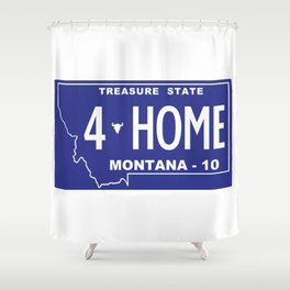 Montana Home - Missoula Shower Curtain