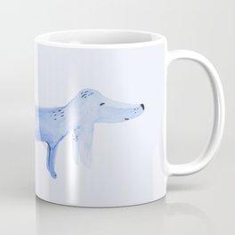 The Blue Dachshund Coffee Mug