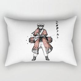 Sage Ink Rectangular Pillow