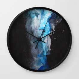 Night Clouds Wall Clock