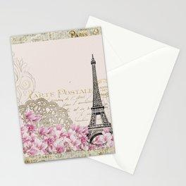 Ooh La La Parisian Eiffel Tower by Saletta Home Decor Stationery Cards