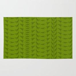 Dinosaur Silhouette Rug