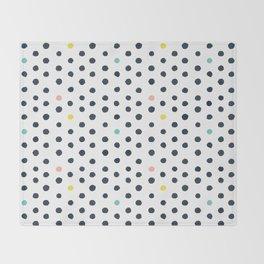 Happy dots Throw Blanket