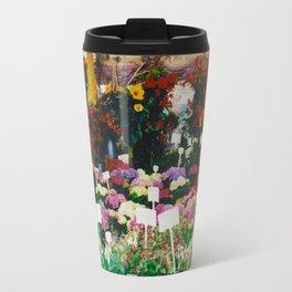 Flower shop in Munich #1 Travel Mug