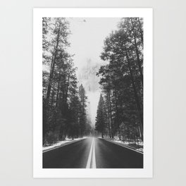 ROAD TRIP XV / Yosemite, California Art Print
