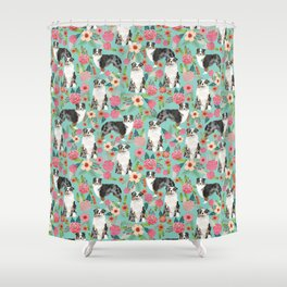 Australian Shepherd owners dog breed cute herding dogs aussie dogs animal pet portrait dog art Shower Curtain