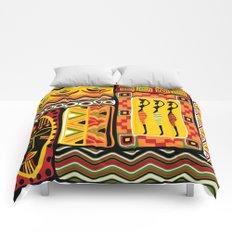 African Ornamental Pattern Comforters