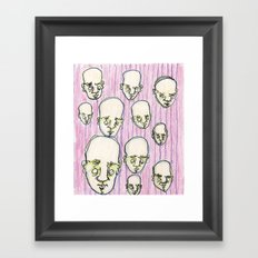 wallpaper Framed Art Print