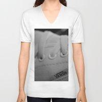 vans V-neck T-shirts featuring Vans by Studio11
