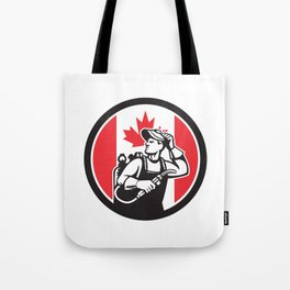 Canadian Welder Canada Flag Icon Tote Bag