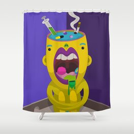 EXCESS Shower Curtain