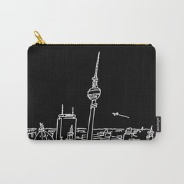 Panorama of Berlin with TV-tower Carry-All Pouch