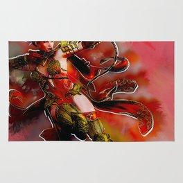 Red Hunter Rug