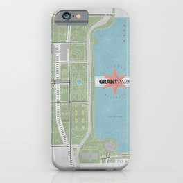Parks of Chicago: Grant iPhone Case