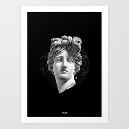 Sculpture Head III Art Print