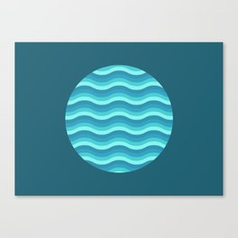 Patterned 3A Canvas Print
