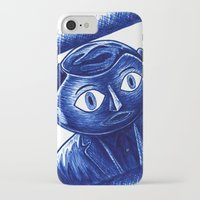 frank iPhone & iPod Cases featuring Frank by Unaitxo