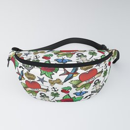 Vintage Tattoos Fanny Pack