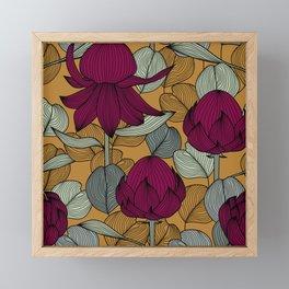Eucalyptus and Waratah Framed Mini Art Print