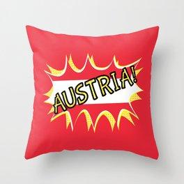 Austria Throw Pillow