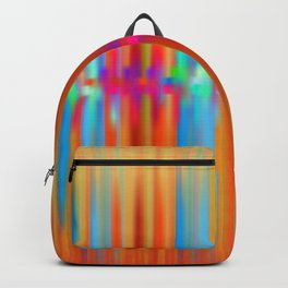 Seismic Shift Fiery Clouds Backpack