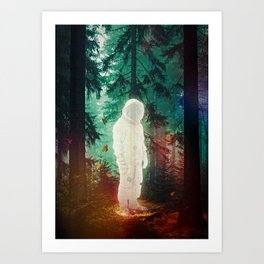 The Lost One Art Print