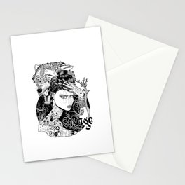 Be one with the wild Stationery Cards