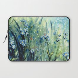 Forget me not flowers Laptop Sleeve