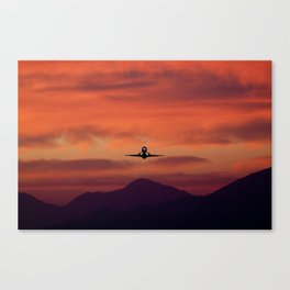 Sunrise Takeoff Canvas Print
