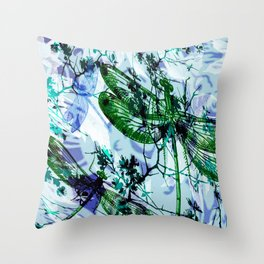 Leaves 102 Throw Pillow