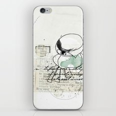 spring time floral iPhone Skin