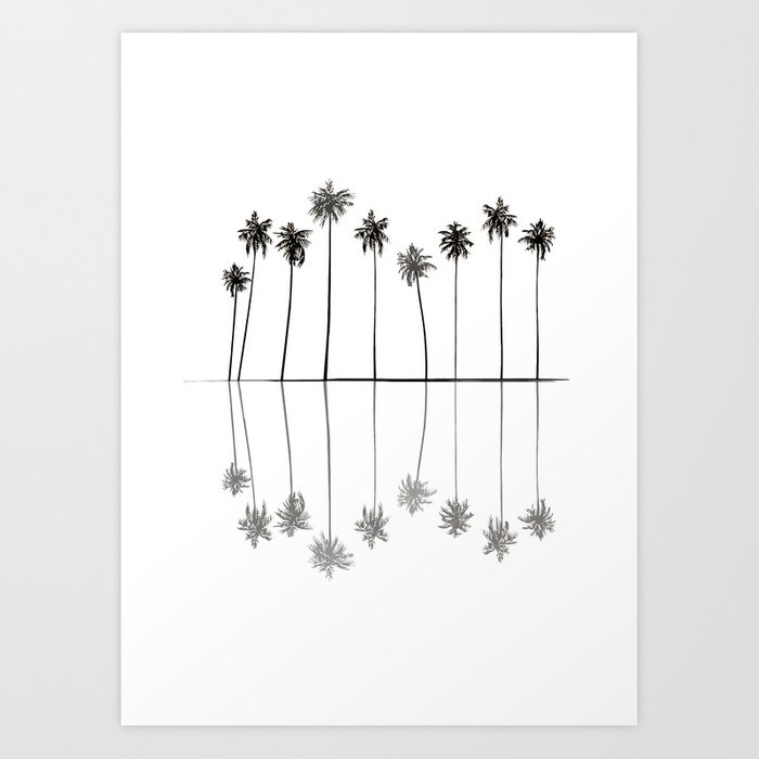 Palm Reflections II