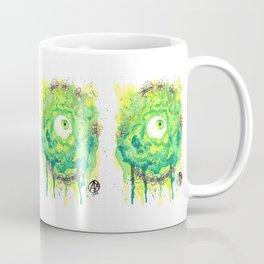 Eyes Series GREEN Coffee Mug