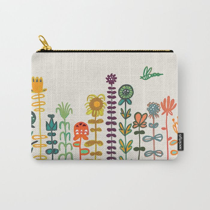 Happy garden Carry-All Pouch