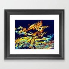 Butterfly Paradise Framed Art Print