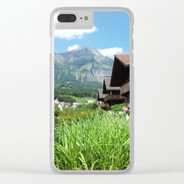 Sound of Music Clear iPhone Case