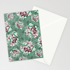 Paisley and Flowers Stationery Cards