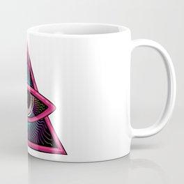 Psychedelic DMT Eye of Wisdom Coffee Mug