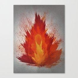 Arson Heart Canvas Print